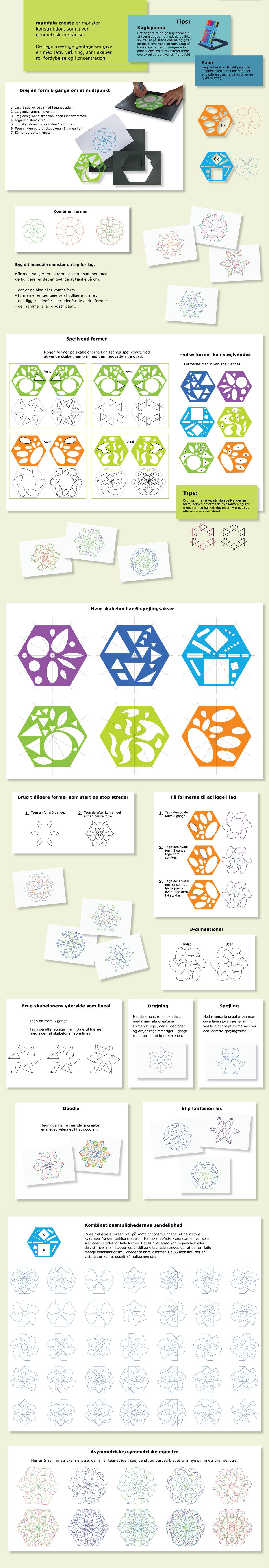 Mandala Create Funktioner 185 Design